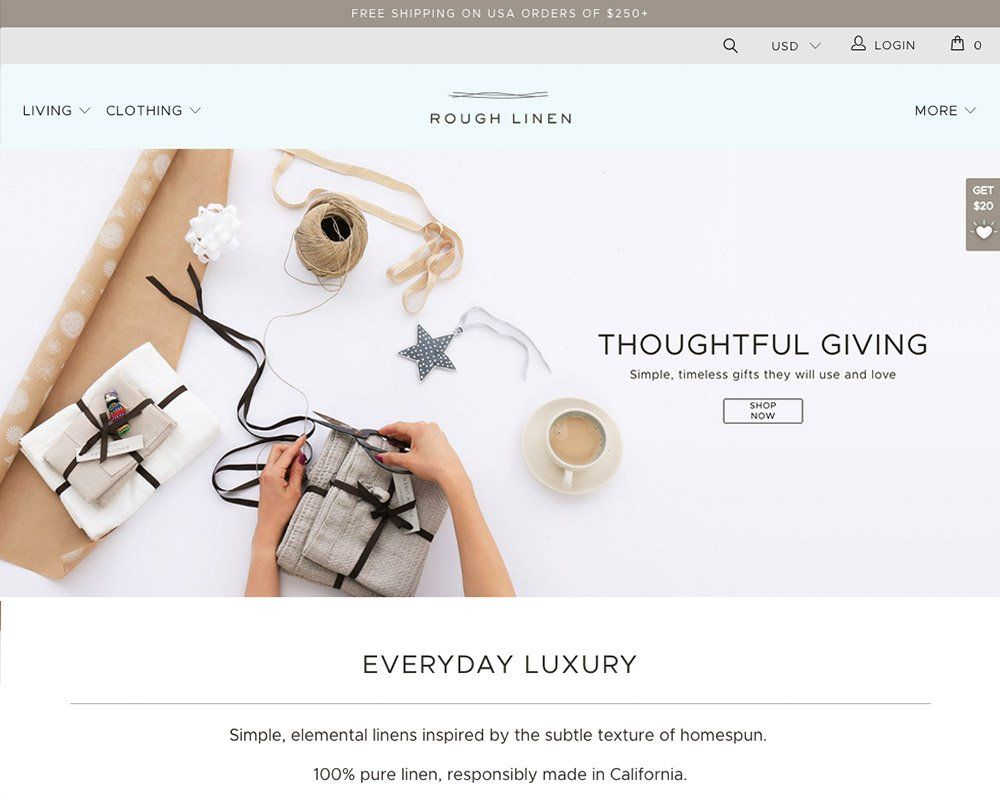 Shopify Plus Web Design in Marin